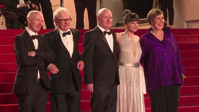 Veteran British director Ken Loach was awarded the coveted Palme d Or at the 69th Cannes film festival on Sunday for his scalding indictment of...