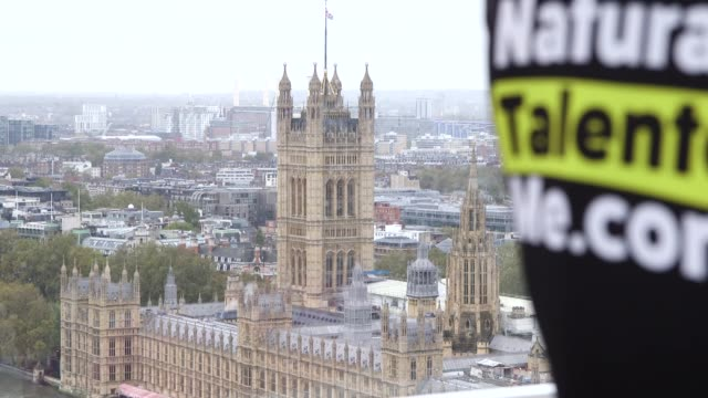 veteran darren hardy attempts to achieve a world record for the longest endurance event on board the london eye, in aid of the armed services charity... - www stock videos & royalty-free footage