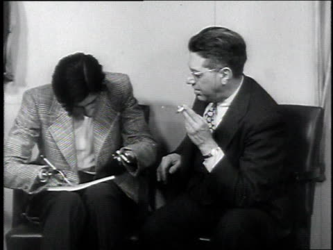 1946 veteran who lost his hands writing with a pen / usa - 1946 stock videos and b-roll footage
