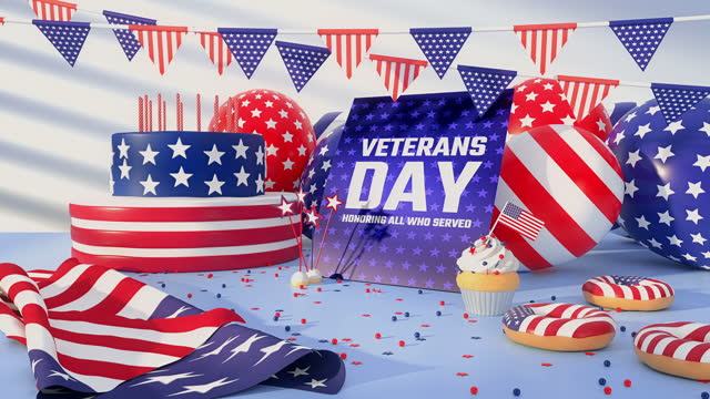 us veteran's day - 4k resolution - top hat stock videos & royalty-free footage