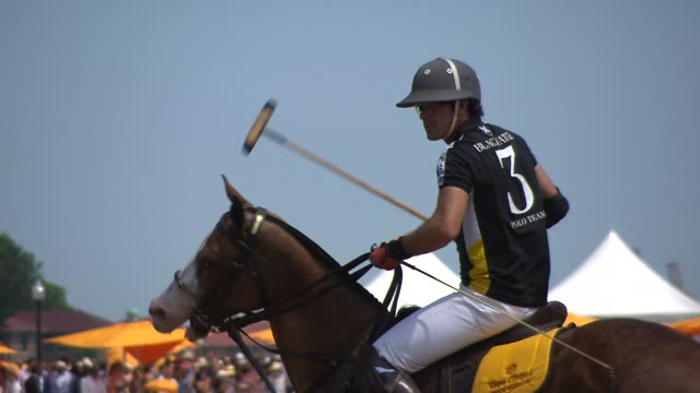 CHYRON Veuve Clicquot Polo Classic 2015 at Liberty State Park on May 30 2015 in Jersey City New Jersey