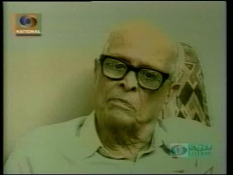 ddi via reuters aston on screen still rasipuram krishnaswami narayan ends - reuters stock videos & royalty-free footage