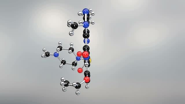 viagra molecule - hypertension stock videos and b-roll footage