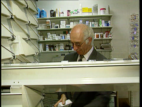 viagra prescriptions restricted lib chemist measuring out viagra tablets - anti impotence tablet stock videos & royalty-free footage