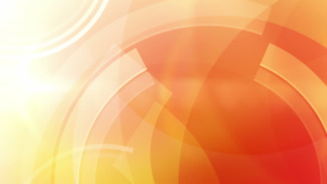 vibrant circles background loop - orange (full hd) - orange stock videos & royalty-free footage