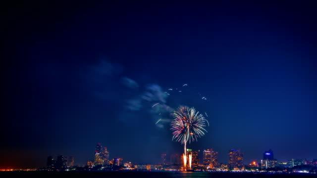 Vibrant firework
