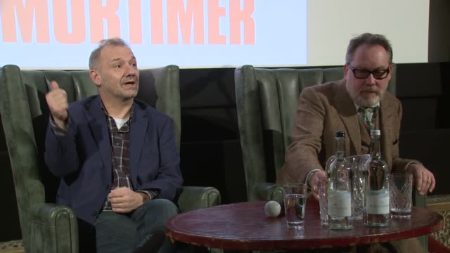 vídeos de stock, filmes e b-roll de vic and bob on doctor's advice on january 13, 2016 in london, england. - vic reeves