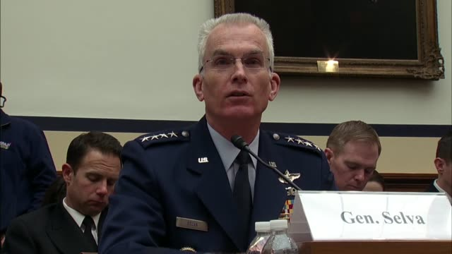 Vice Joint Chiefs of Staff Chair Paul Selva tells Rhode Island Congressman Jim Langevin at a House Armed Services Committee hearing on defense...