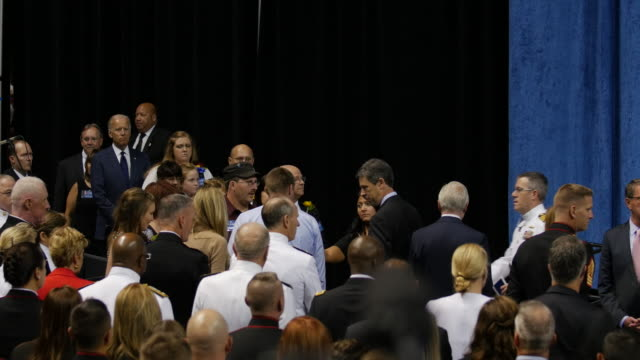 US Vice President Joe Biden Came to Chattanooga Tennessee on Aug 15 for a memorial service to honor the 5 servicemen killed about a month ago