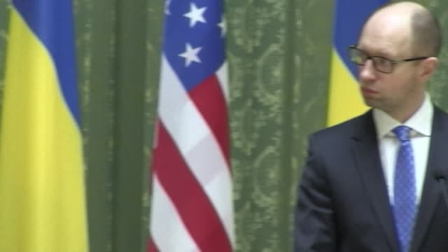 US Vice President Joe Biden on Tuesday accused Russia of trying to pull Ukraine apart and pledged Washingtons strong support for Kievs leaders as a...