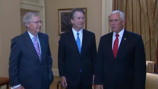 Vice President Mike Pence thanks Majority Leader Mitch McConnell for confirming more judges nominated by President Donald Trump and any in American...