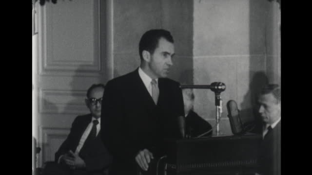 Vice President Richard Nixon Talks About Nikita Khrushchev and World Leaders Being Provoked by Soviet Union Communist Leader that Could Set Off...
