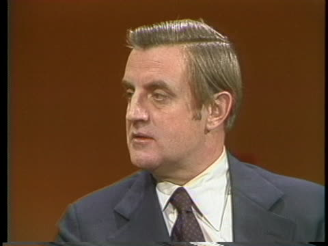 vice president walter mondale describes his role a chief adviser to the president of the united states. - united states and (politics or government) stock videos & royalty-free footage