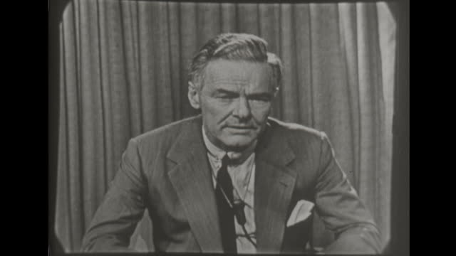 vice presidential candidate henry cabot lodge talks about cuba and communism in the congo africa and russian influence on election - candidate stock videos and b-roll footage