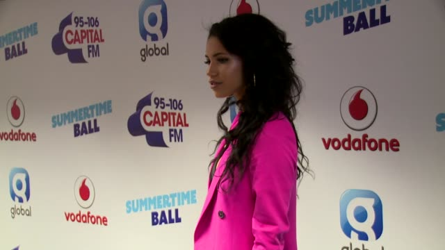 vick hope at wembley arena on june 10 2017 in london england - wembley arena stock videos & royalty-free footage