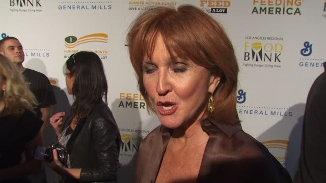 Vicki Escarra on what the evening represents for Feeding America at the 'Rock A Little Feed A Lot' Benefit Concert at Los Angeles CA