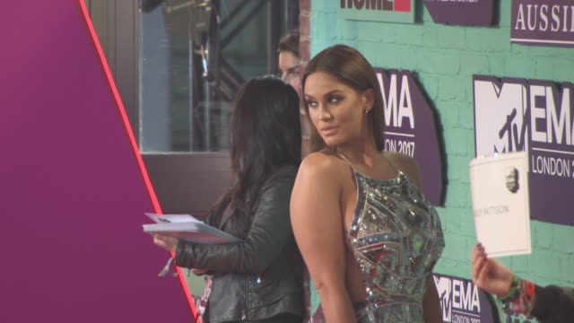 vicky pattison at mtv ema awards at the sse arena, wembley on november 12, 2017 in london, england. - wembley arena stock videos & royalty-free footage