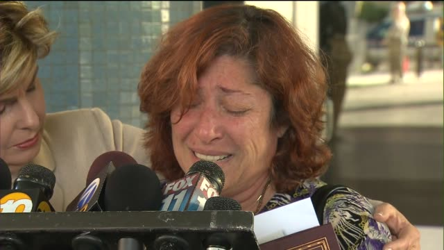 victim's mother pleas to police after john steven burgess' release on july 24 2012 in los angeles california - craigslist stock videos and b-roll footage