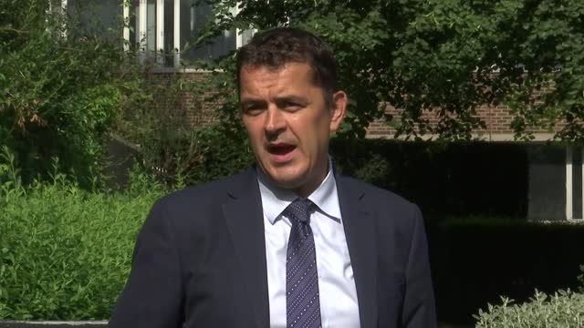 victims of double murder in westminster both stabbed in neck; england: london: ext detective superintendent luke marks statement sot - crime and murder stock videos & royalty-free footage