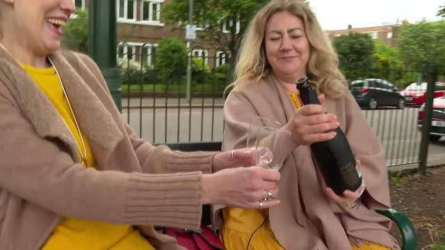 victims of pip breast implants celebrating winning their case, after learning that french court of appeal rules they should receive compensation - chest stock videos & royalty-free footage