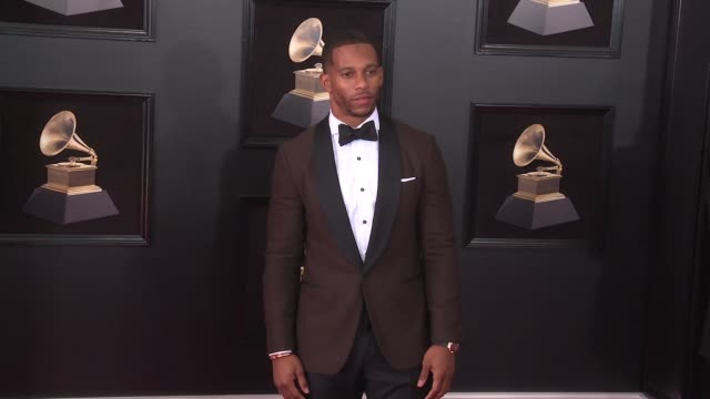 Victor Cruz at 60th Grammy Awards Celebration Party at Madison Square Garden on January 28 2018 in New York City