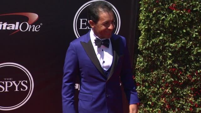 victor espinoza at the 2015 espys at microsoft theater on july 15 2015 in los angeles california - microsoft theater los angeles stock videos and b-roll footage