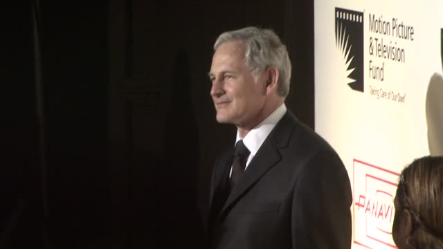 victor garber at the 'a fine romance' to benefit the motion picture television fund at los angeles ca - motion picture & television fund stock videos & royalty-free footage