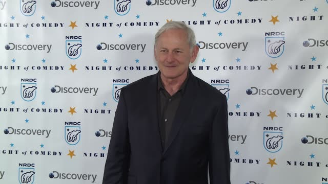 victor garber at the natural resources defense council presents night of comedy benefit hosted by seth meyers at new york historical society on april... - seth meyers stock videos and b-roll footage