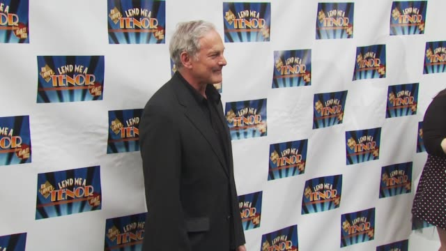 victor garber at the opening of 'lend me a tenor' arrivals at new york ny - lend me a tenor stock-videos und b-roll-filmmaterial