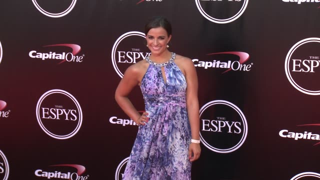 vídeos de stock, filmes e b-roll de victoria arlen at the 2016 espy awards at microsoft theater on july 13 2016 in los angeles california - espy awards