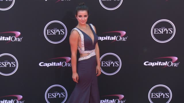 vídeos de stock, filmes e b-roll de victoria arlen at the 2017 espys in los angeles ca - espy awards