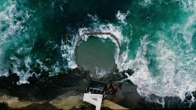 victoria beach aerial in laguna beach california - laguna beach california stock videos & royalty-free footage