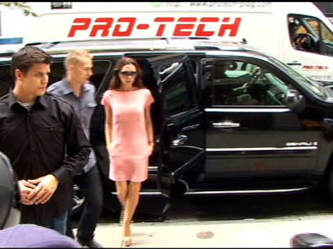 Victoria Beckham arrives at Miu Miu Shopping 5th Avenue in New York 09/15/11