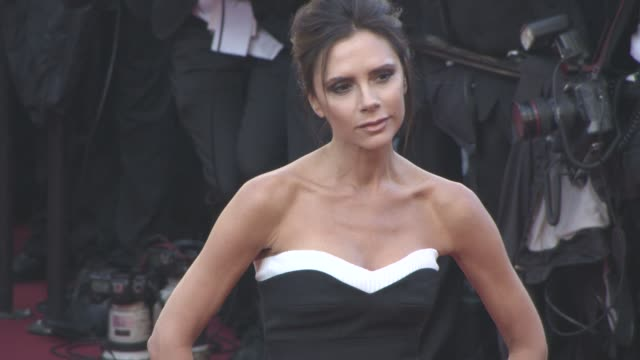 Victoria Beckham at 'Cafe Society' Opening Ceremony Red Carpet at Palais des Festivals on May 11 2016 in Cannes France