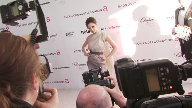 Victoria Beckham at the 18th Annual Elton John AIDS Foundation Oscar Party at West Hollywood CA