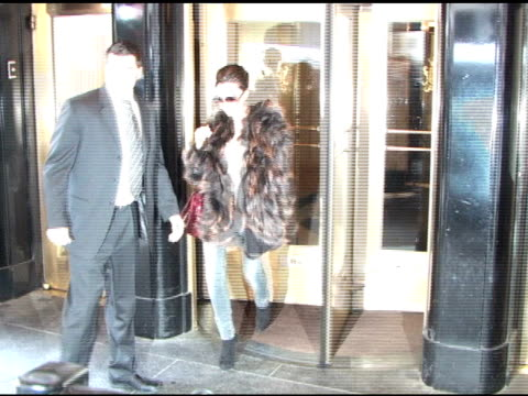 Victoria Beckham at the Carlyle Hotel at the Celebrity Sightings in New York at New York NY