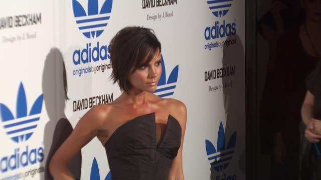 Victoria Beckham at the David Beckham And James Bond Launch adidas Originals By Originals Line at Los Angeles CA