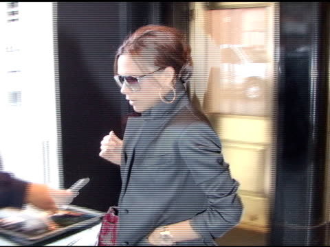 Victoria Beckham in New York at the Celebrity Sightings in New York at New York NY