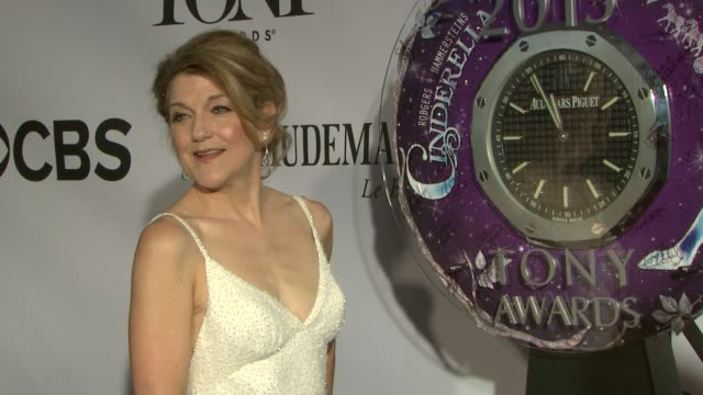 Victoria Clark at The 67th Annual Tony Awards Arrivals at Radio City Music Hall on June 09 2013 in New York New York