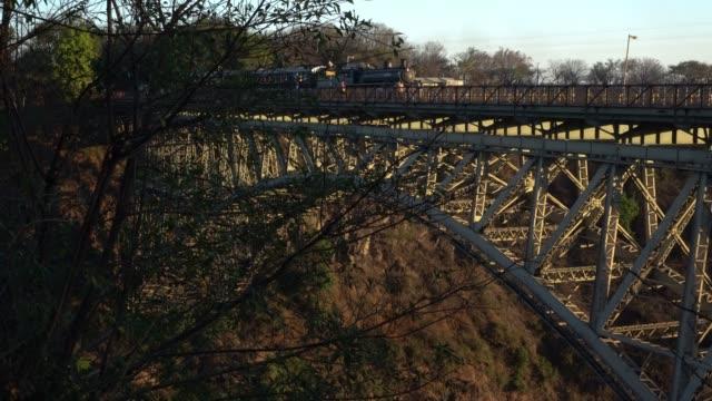 victoria falls bridge , zimbabwe - victoria falls stock videos and b-roll footage