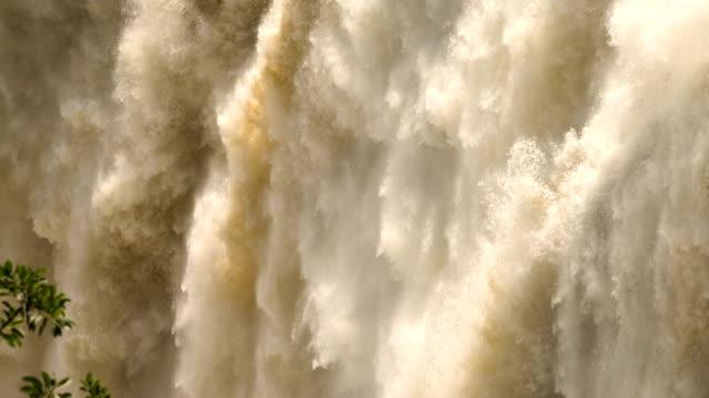 vidéos et rushes de chutes victoria - botswana