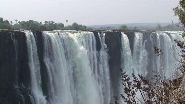 victoria falls, zimbabwe - victoria falls stock videos and b-roll footage