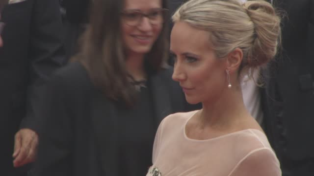 victoria hervey at 'slack bay' red carpet at grand theatre lumiere on may 13 2016 in cannes france - international cannes film festival stock videos & royalty-free footage