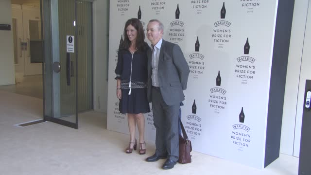 victoria hislop, ian hislop at winner of the 2016 baileys womens prize for fiction photocall on june 8, 2016 in london, england. - ian hislop stock videos & royalty-free footage