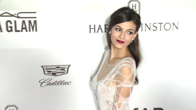 victoria justice at amfar's inspiration gala los angeles 2016 in los angeles ca - gala stock videos & royalty-free footage