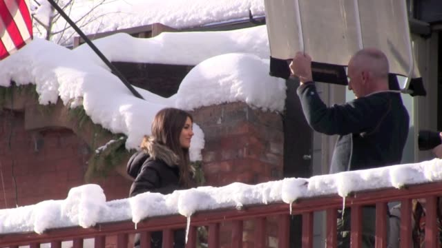 victoria justice at celebrity sightings in park city on 1/22/2012 in park city, ut. - victoria justice stock videos & royalty-free footage