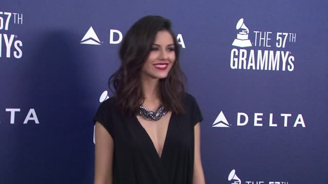 victoria justice at delta air lines kicks off grammy weekend with private performance by grammy nominated artist charli xcx and dj set by questlove... - delta air lines stock-videos und b-roll-filmmaterial
