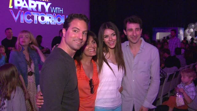 Victoria Justice at the Nickelodeon's 'iParty With Victorious' Premiere at West Hollywood CA