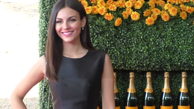 Victoria Justice at the sixth annual Veuve Clicquot Polo Classic at Will Rogers Historic State Park in Pacific Palisades at Celebrity Sightings in...