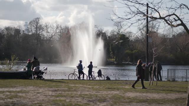 victoria park london - establishing shot stock videos & royalty-free footage